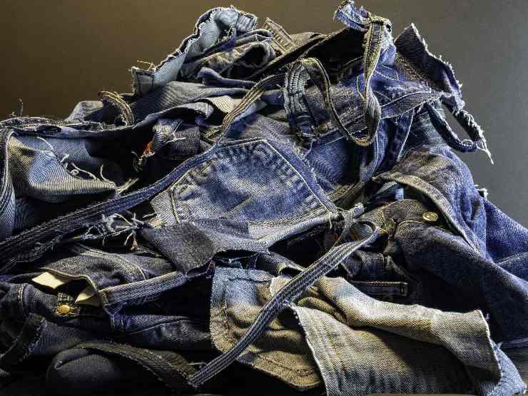 Reutilización de jeans