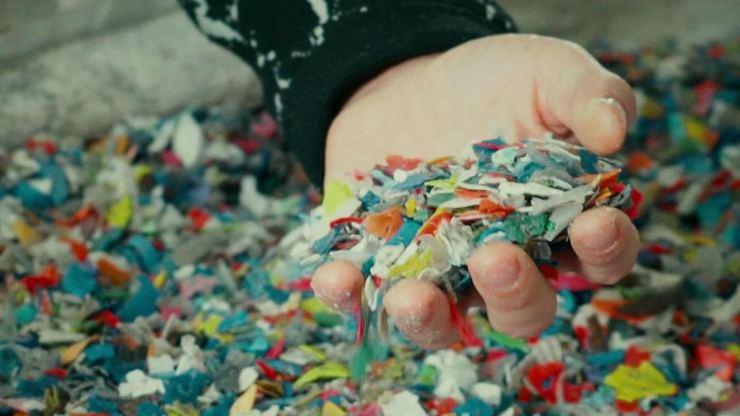 Madera ecológica a base de plástico