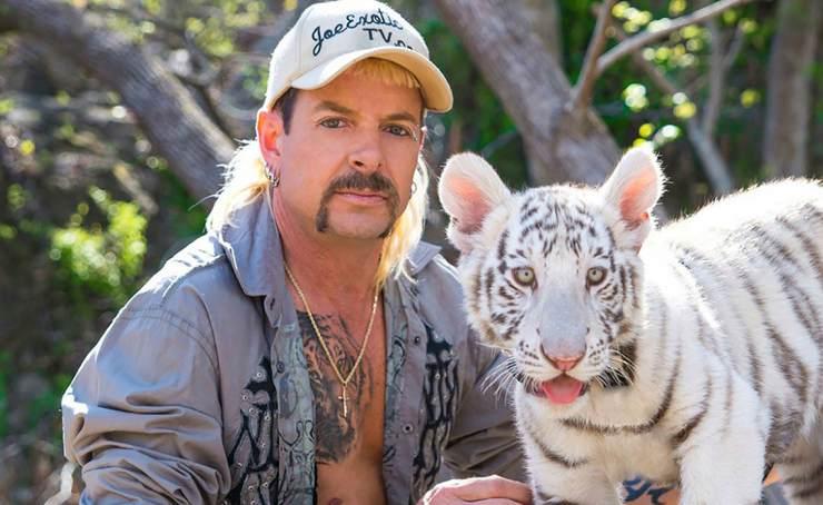 tigres rescatados de Tiger King