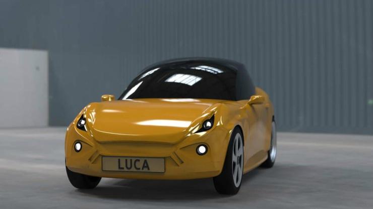 Luca auto electrico