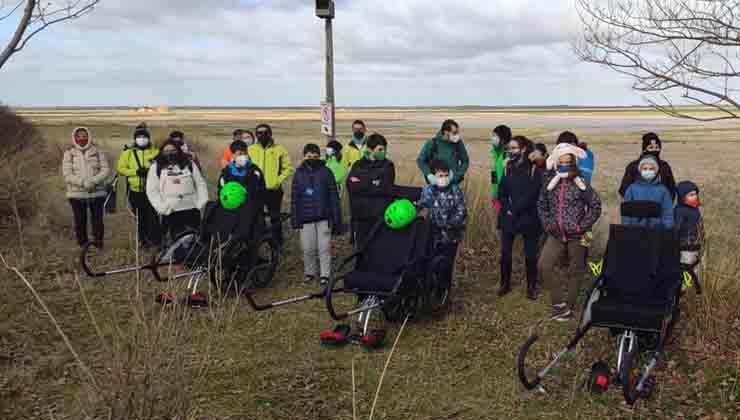 Sillas de ruedas deportivas para ecoturismo inclusivo en Moraña (Pronisa.org))
