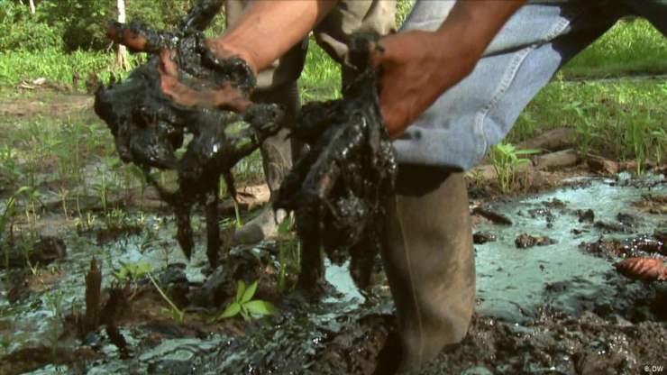 derrames de petroleo en Ecuador