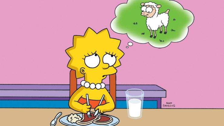 Los Simpson animalistas