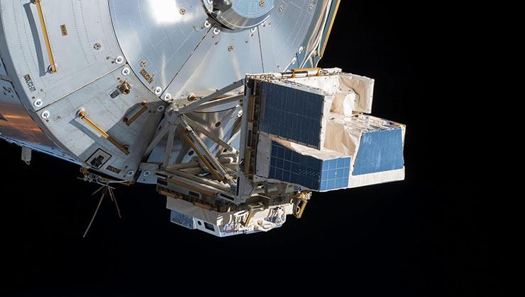 Asim, el instrumento que se utiliza para ver qué pasa encima de las nubes, como los chorros azules y los elfos (Foto de la Agencia Espacial Europea).