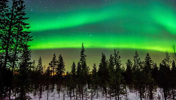 Por las pocas horas de luz, el invierno es la mejor época para ver auroras boreales (Foto de Suomi Photography- Pexels).