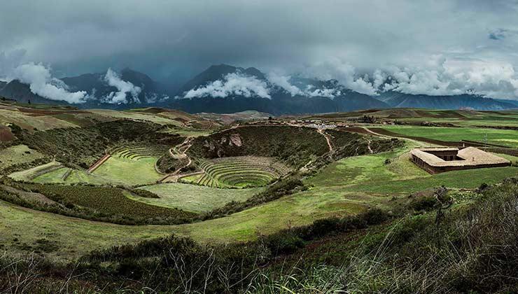 Las ruinas incas y la casona que forman el entorno de Mil (Foto de milcentro.pe).