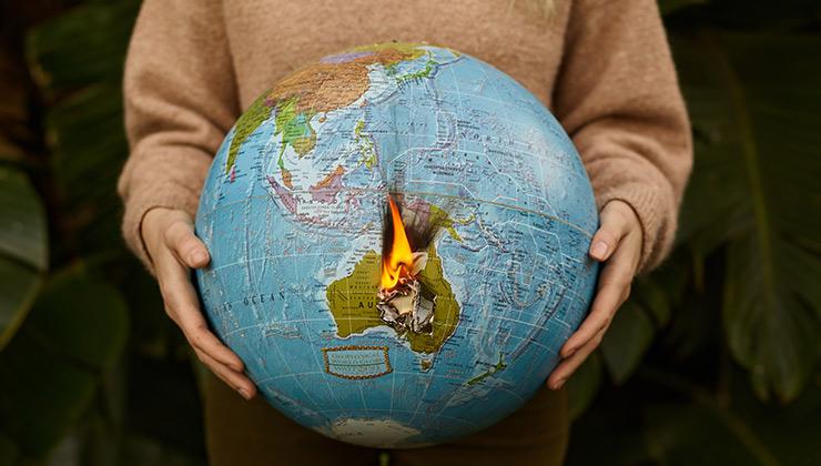 La acción por el clima urge para no destruir al planeta, nuestra única casa (Foto de Nick Bondarev - Pexels).