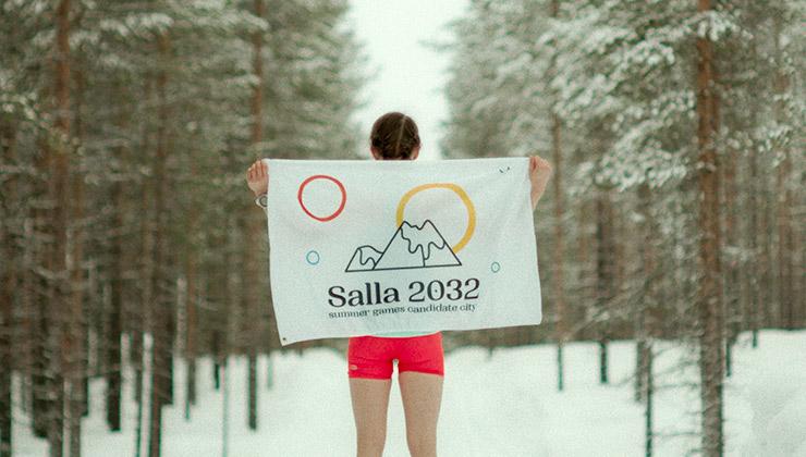 El cambio climático le daría una mano a Salla para ser sede de los juegos de verano (Foto de savesalla.com).