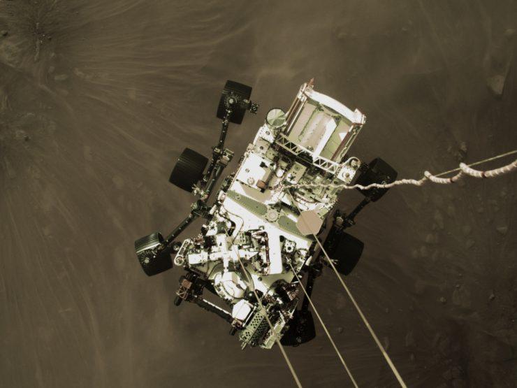 Aterrizaje del Perseverance en Marte