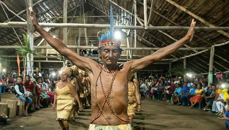 La COIAB es una organización que lucha por el reconocimiento de los derechos de los pueblos indígenas de Brasil (Foto: COIAB).