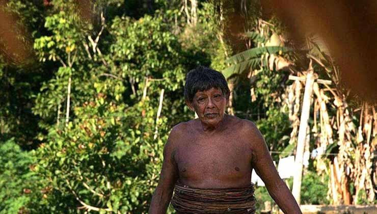Aruká era el último miembro del pueblo Juma y murió de coronavirus(Foto: COIAB).