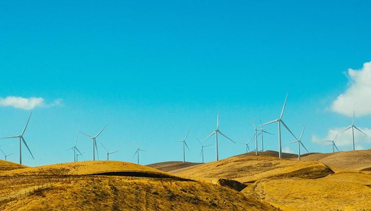 La energía eólica representa el siete por ciento de la producción de energía en mundo (Foto de Athena - Pexels).