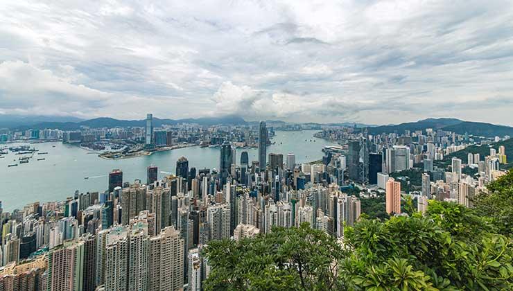 Hong Kong, en China, está dentro del ranking de las 10 ciudades más inteligentes (Foto de Jimmy Chan - Pexels).
