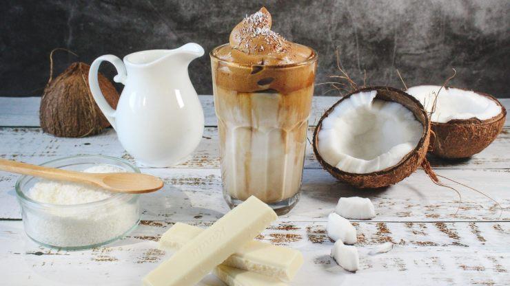 Leche vegetal de coco