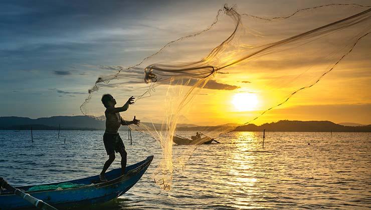 La pesca sostenible es elemental para proteger los océanos y las economías regionales (Foto de Quang Nguyen Vinh - Pexels).