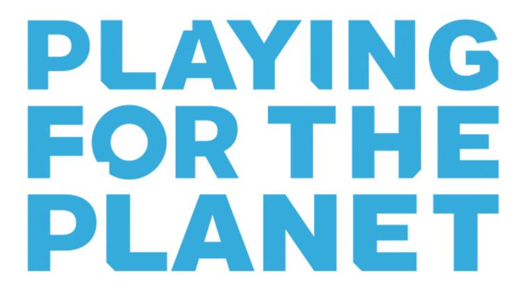 Logo de la iniciativa Playing for the Planet (Foto de Playing for the Planet).