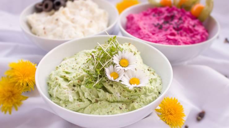 dips veggies y saludables