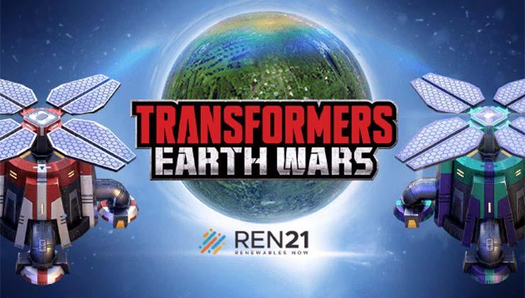 El videojuego de Transformers es una lucha por preservar la vida en la Tierra (Foto de Playing for the Planet).