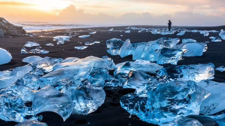 Playa de los Diamantes, Islandia