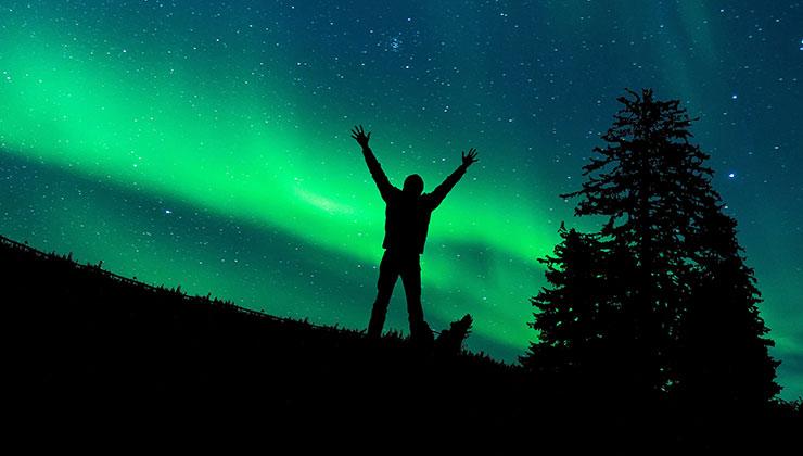El acceso a la vida en la naturaleza es una de las razones por la que Finlandia es un país feliz (Foto de Gerhard Lipold - Pexels).