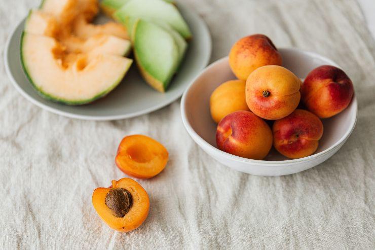 Frutas de estación en verano
