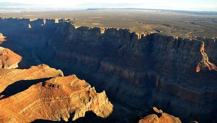 Vista aérea del Gran Cañón del Colorado, en Arizona (Foto National Parks Services).