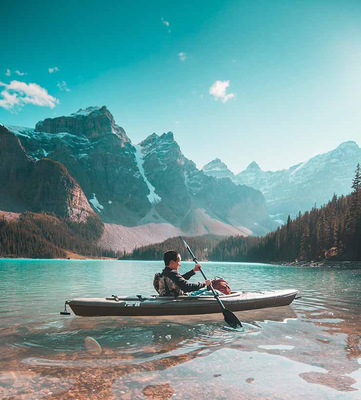 Pocos deportes generan tanta paz interior como el kayak (Foto de Jaime Reiner - Pexels).