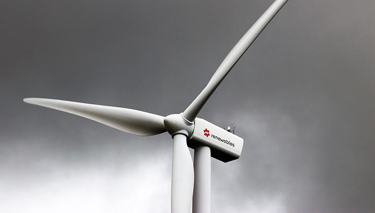La madera balsa se utiliza para fabricar las aspas de los generadores eléctrico eólicos (Foto de Expect Best - Pexels).
