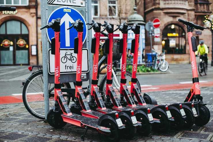 Patinetes eléctricos en Alemania