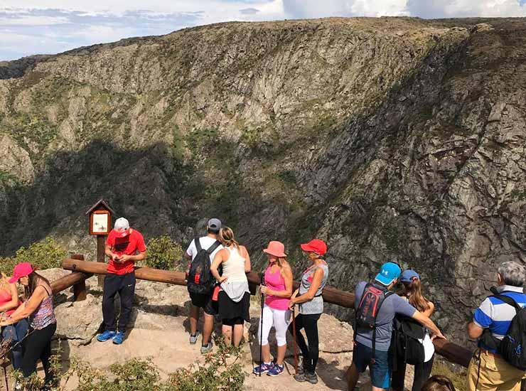 El Balcón Norte de la Quebrada del Condorito es un buen sitio el avistaje de cóndores (Foto de Gobierno de Córdoba).