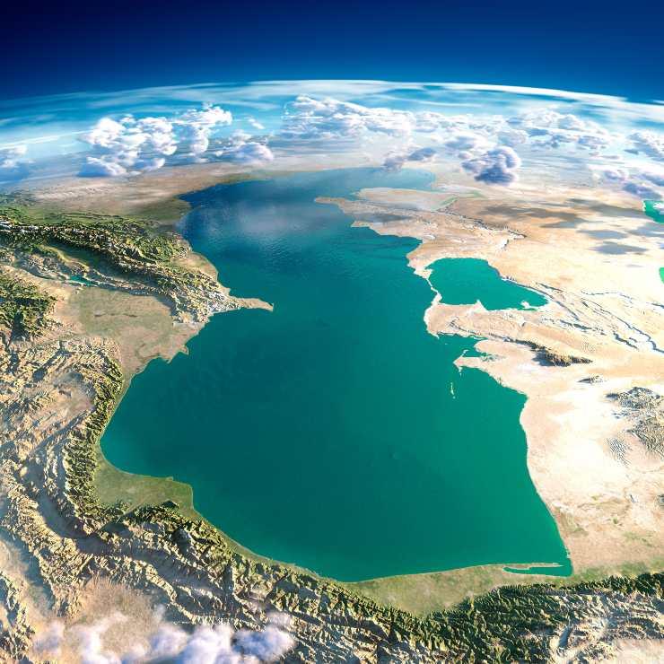 El calentamiento global puede secar al Mar Caspio a final de siglo