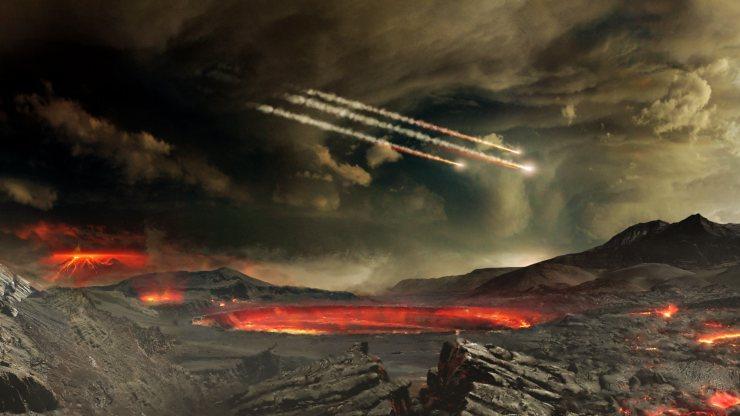 Meteoritos en la tierra2