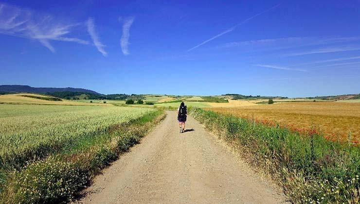 Para peregrinar debes entrenar porque el Camino de Santiago es un reto físico (Foto de José Miguel Blasco - Vive el Camino).