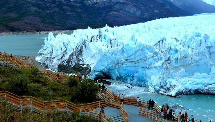 El glaciar Perito Moreno regala espectáculos únicos en Argentina (Foto: argentina.gob.ar).
