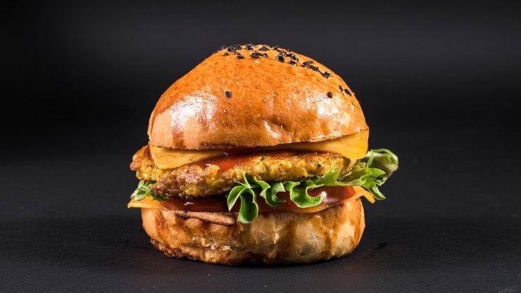 receta hamburguesas de soja texturizada