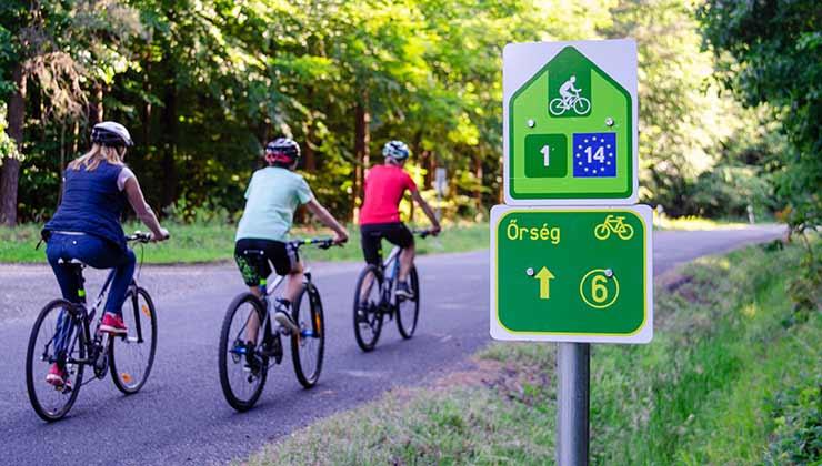 La red EuroVelo está presente en todo Europa y permite recorrer el continente en bici de punta a punta (Foto: EuroVelo - Twitter).