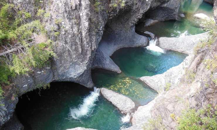 Parque Nacional Siete Tazas