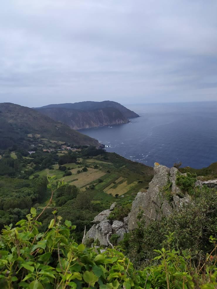 La costa de Galicia