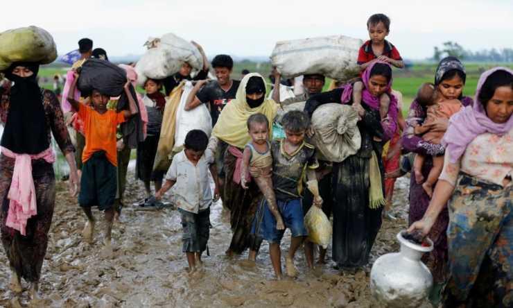 el drama de los desplazados climaticos