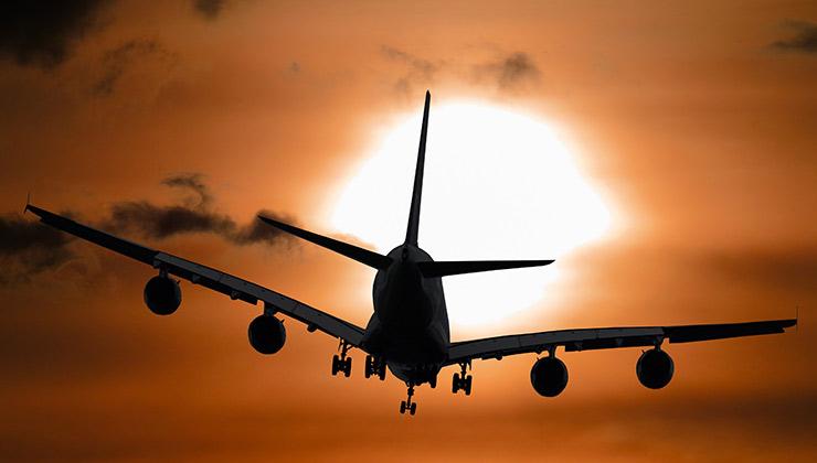 Varios aviones vienen preparados de fábrica para poder operar con biocombustibles (Foto de Pixabay - Pexels).