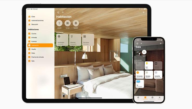 Desde la aplicación Casa puede manejar los dispositivos compatibles con HomeKit (Foto: Apple.com)