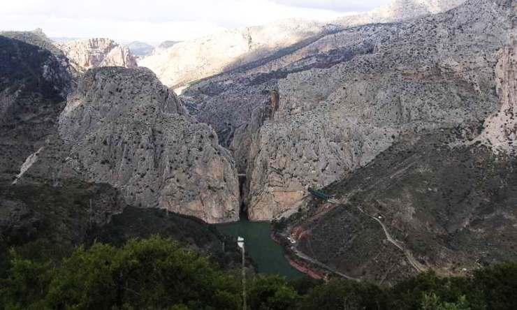 Desfiladero de los Gaitanes (Málaga)