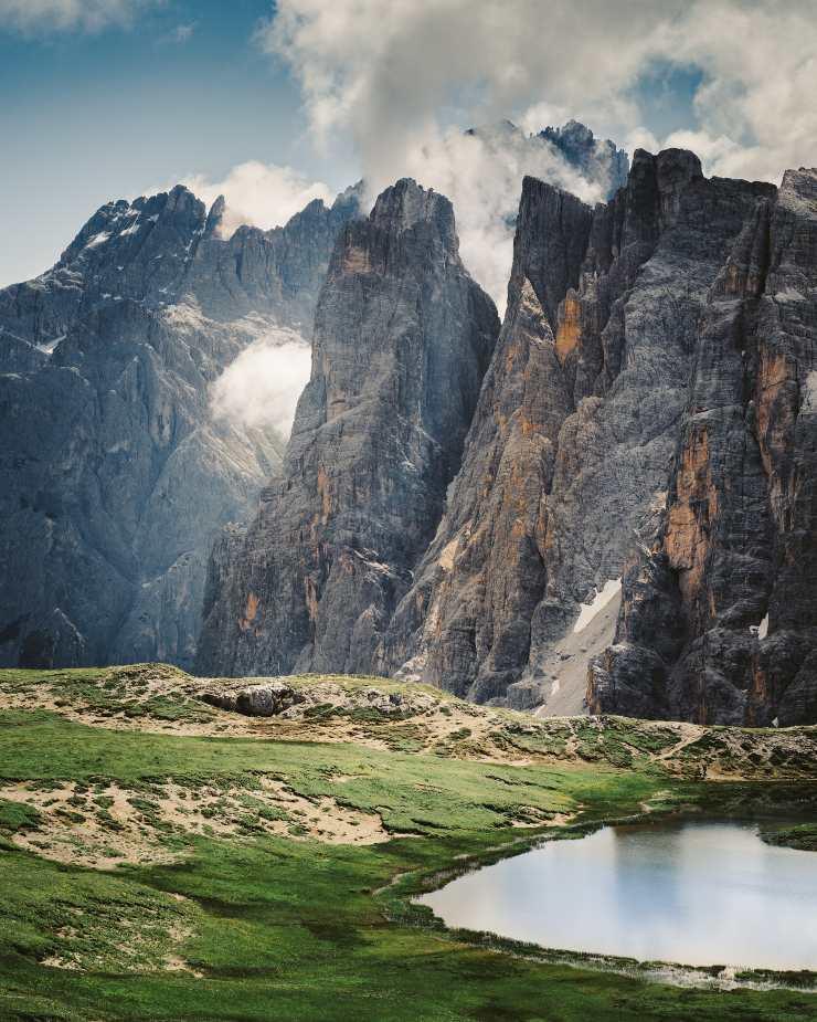 Red Natura 2000: Cadena Montañosa de los Dolomitas