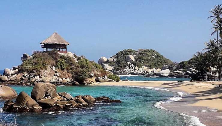 El Parque Nacional Tayrona es una de las joyas del caribe para descubrir (Foto: Parques Nacionales de Colombia - Instagram).