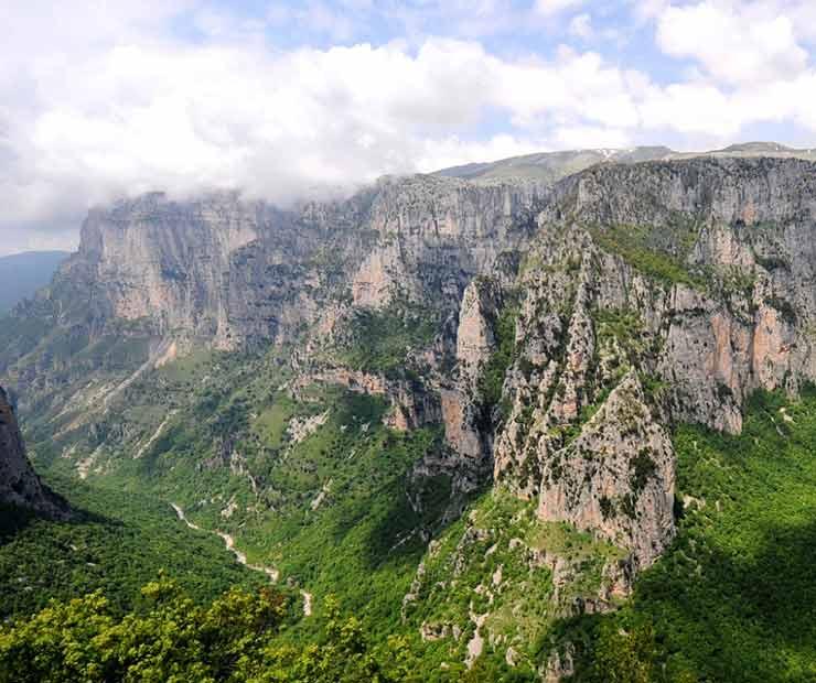 La Cordillera de Pindo, una maravilla natural de Grecia para resaltar en el Día de los Parques Naturales Europeos (Foto de Europarc - Instagram).
