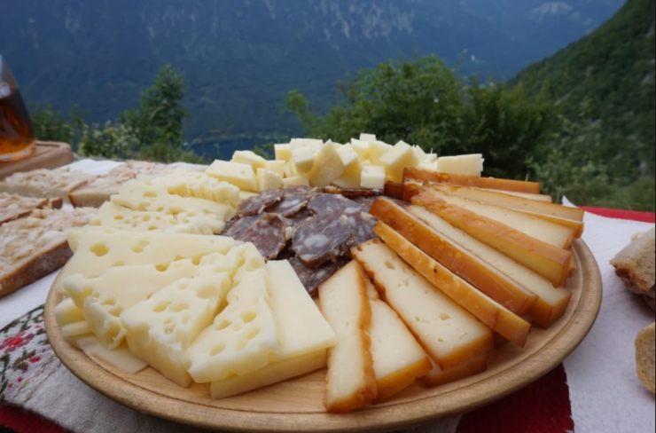 quesos del valle de Bohinj