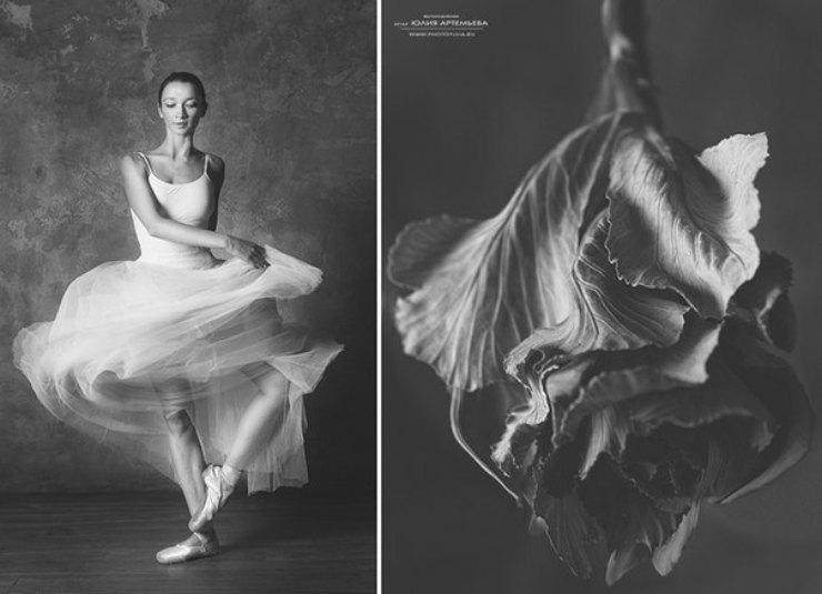 5 hermosas fotografías inspiradas en la naturaleza y la danza