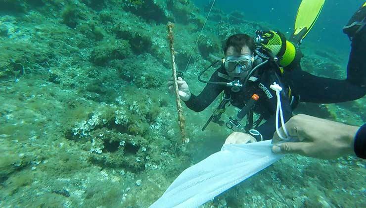La limpieza en el fondo del Mediterráneo frente a Menorca se hará con buzos voluntarios (Foto: 0 Plastics Menorca).