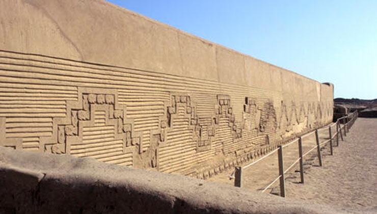 El complejo arqueológico de Chan chan, la ciudad de adobe más grande del mundo, impacta por sus murallas (Foto: unesco.org).