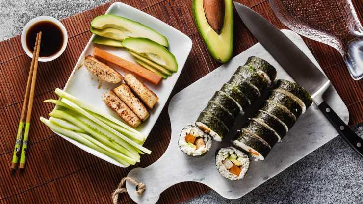 Receta de sushi vegano: todo el sabor sin nada de pescado
